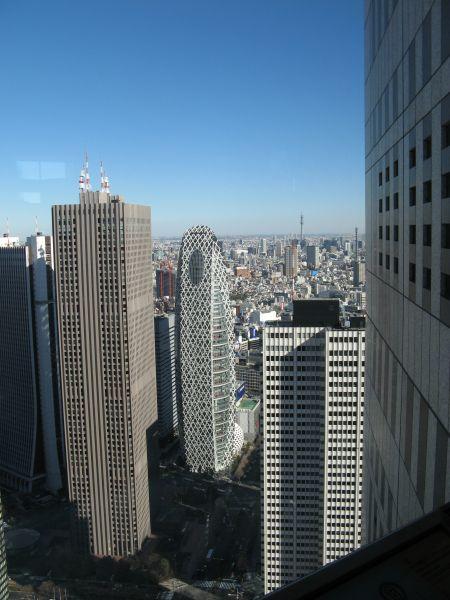 vue de l'observatoire sur la ville